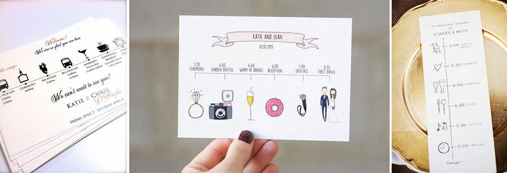 esküvői meghívó - kép 5 - idővonal
