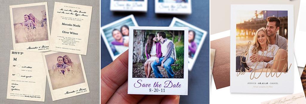 esküvői meghívó - kép 2 - polaroid